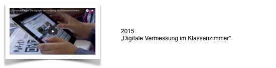 2015_Digitale Vermessung im Klassenzimmer