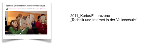 2011_Kurier/Futurezone_Technik u. Internet