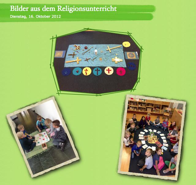 Bilder aus dem Religionsunterricht