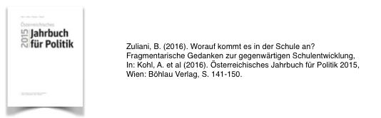 Jahrbuch der Politik